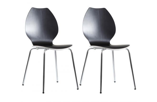 Sillas de cocina blancas: dos sillas cocina blancas segunda mano ...