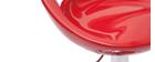 Lote de 2 taburetes COMET color rojo