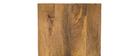 Lote de 3 mesas nido madera y metal blanco ROCHELLE
