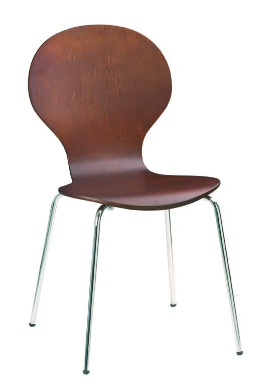 Lote de 4 sillas de cocina comedor de color wenge abigail for Sillas de cocina comedor