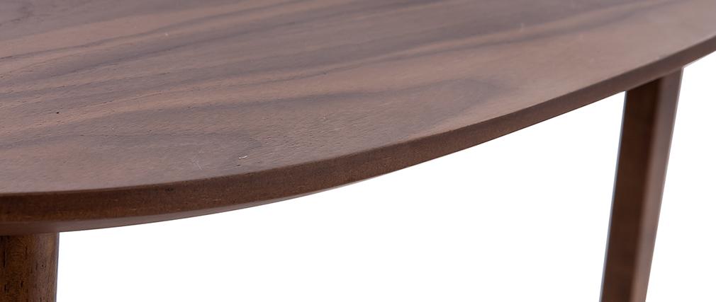 Lote de dos mesas de centro nogal ARTIK