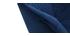 Mecedora en tejido azul oscuro y metal blanco SWING