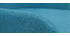 Mecedora en tejido azul petróleo SHANA