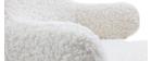 Mecedora infantil efecto piel de oveja SHAUN