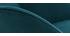 Mecedora nórdica en terciopelo azul petróleo JHENE
