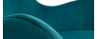 Mecedora terciopelo azul petróleo ESKUA