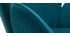 Mecedora terciopelo azul petróleo RHAPSODY