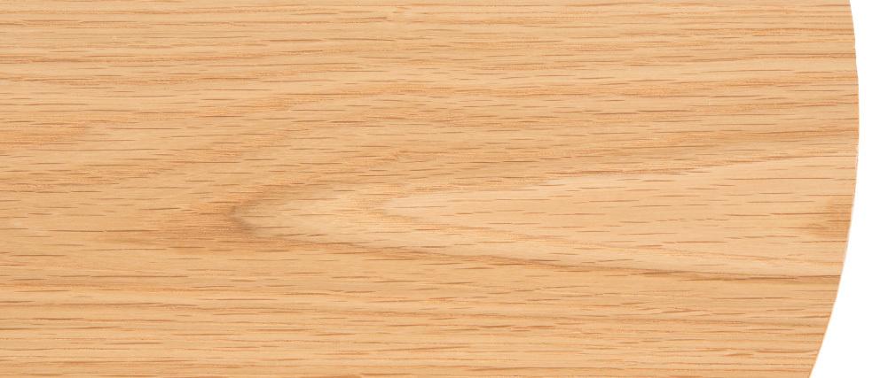 Mesa auxiliar madera y metal 42cm LACE