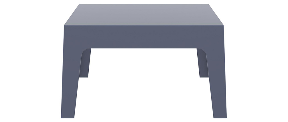 Mesa baja de jardín diseño gris oscuro LALI