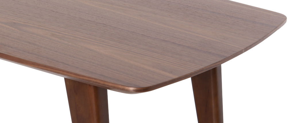 Mesa baja diseño nogal FIFTIES