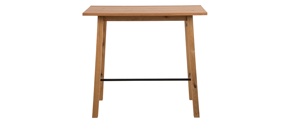 Mesa de bar diseño madera HONORE