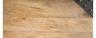 Mesa de bar rectangular diseño industrial madera y metal MADISON
