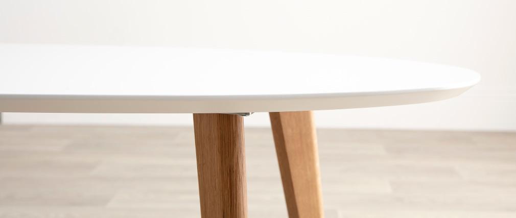Mesa de centro diseño 120cm blanco EKKA