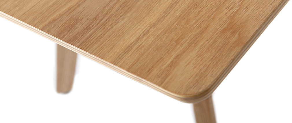 Mesa de centro diseño L120 cm fresno KYOTO