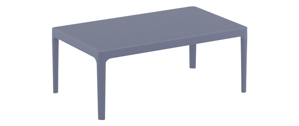 Mesa de centro moderna interior / exterior gris OSKOL