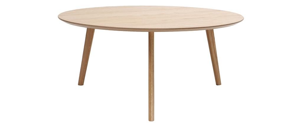 Mesa de centro redonda diseño ORKAD