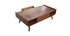 Mesa de centro vintage madera nogal HALLEN
