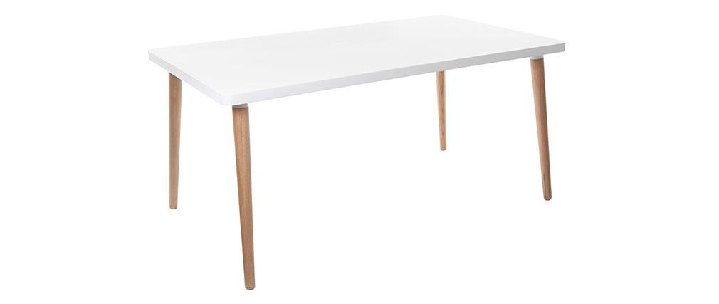 Mesa de comedor de diseño nórdico L160 TOTEM