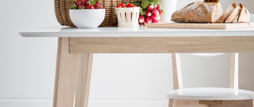 Mesa de comedor diseño 120cm LEENA