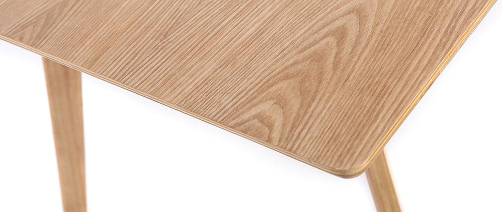 Mesa de comedor diseño 160cm fresno KYOTO