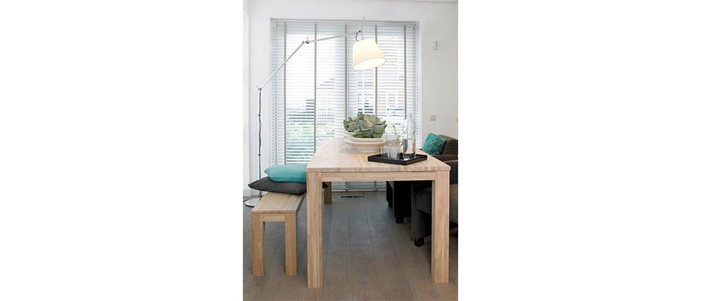 Mesa de comedor diseño 180x85 en roble LUPA
