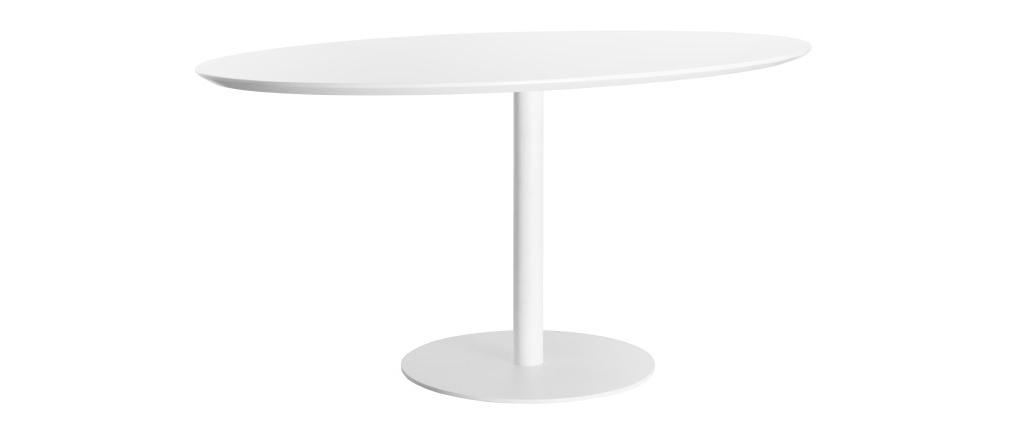 Mesa de comedor diseño blanco HALIA