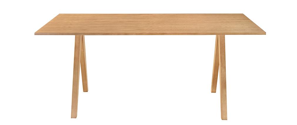 Mesa de comedor diseño escandinavo roble L180 DANA