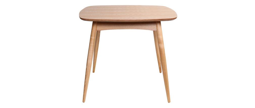Mesa de comedor diseño fresno natural L90 BALTIK