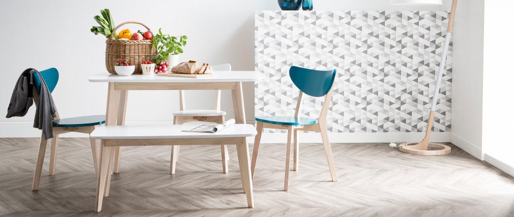 Mesa de comedor diseño L120 LEENA