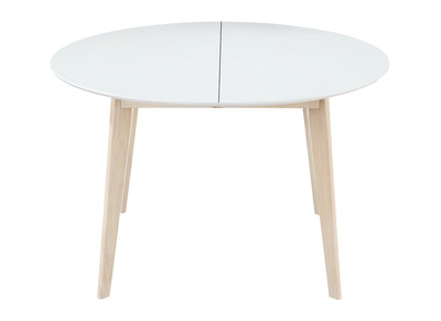 Rebajas mesas de comedor miliboo miliboo for Mesa redonda extensible blanca