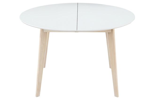 Mesa redonda extensible comedor mesas de comedor - Mesa redonda blanca extensible ...