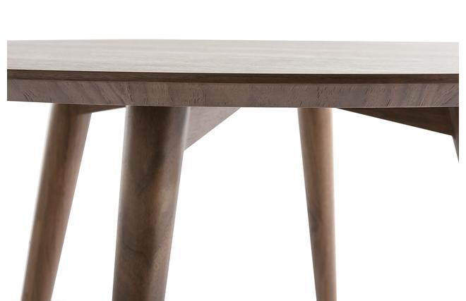 Casas cocinas mueble mesa de comedor redonda for Mesa cocina tenerife