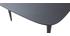 Mesa de comedor extensible madera negra L130-160 cm NORDECO