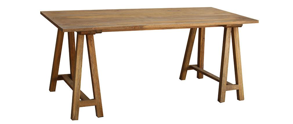 Mesa de comedor madera de mango ANTIQUA
