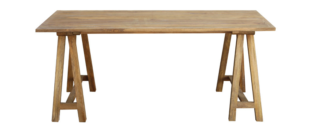 Mesa de comedor madera de mango L180 ANTIQUA