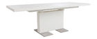 Mesa de diseño extensible lacada blanca L160-220 NEMIA
