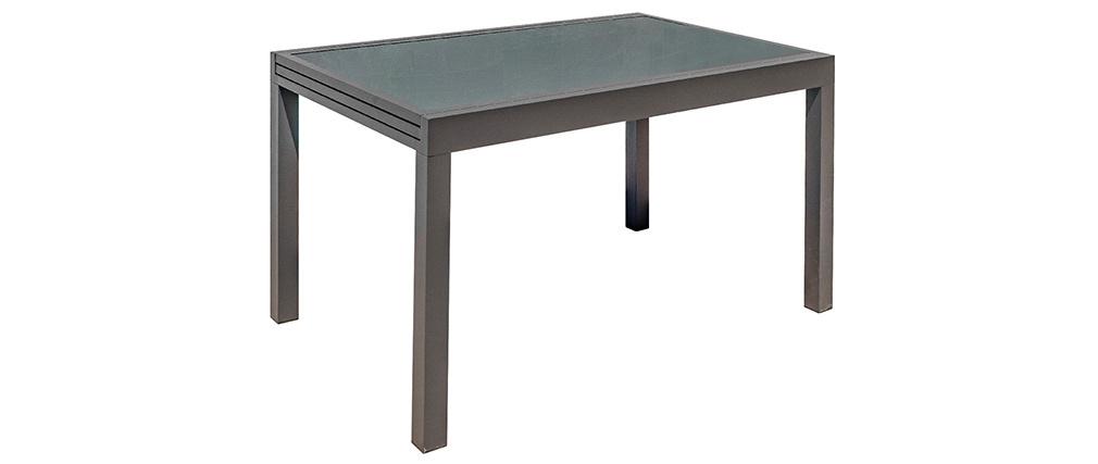 Mesa de jardín extensible gris antracita L135-270 cm PORTOFINO