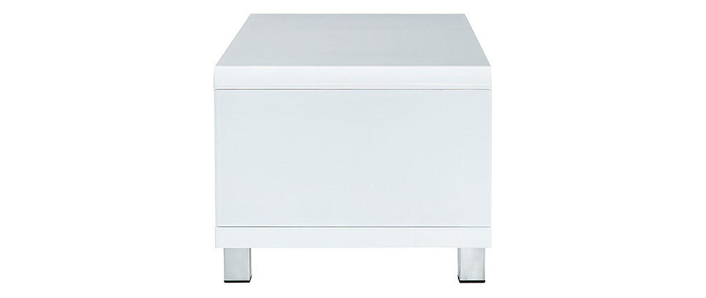 Mesa de salón diseño blanca ROXIE