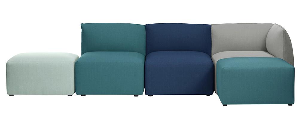 Módulo moderno tejido azul claro MODULO