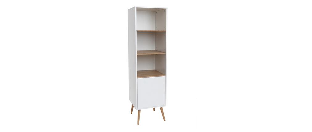 Mueble de baño blanco y madera TOTEM