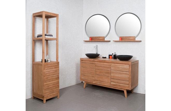 Muebles bano doble lavabo 20170815144129 for Muebles de bano negro
