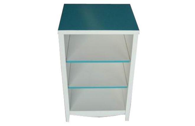 Muebles Baño Ambiente Azul:Mueble de cuarto de baño TROPIC – azul laguna – Miliboo