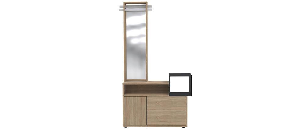 Mueble de entrada con espejo y almacenaje KOLN