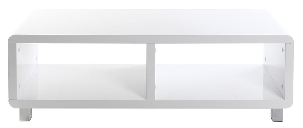 Mueble TV de diseño lacado blanco PIXY
