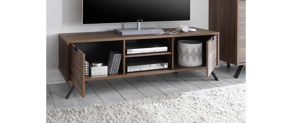 Mueble TV diseño 156cm nogal ORIGIN