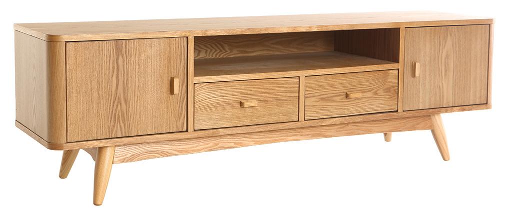 Mueble TV diseño fresno 160cm NORDECO