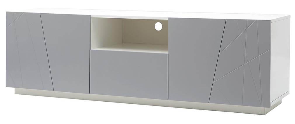 Mueble TV diseño gris mate ALESSIA