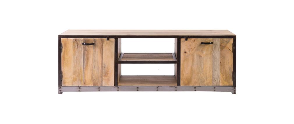 Mueble TV diseño industrial INDUSTRIA