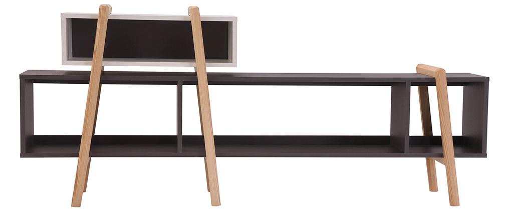 Mueble TV diseño WOOD TANG  COMPO 6