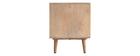 Mueble TV en madera de mango y rejilla trenzada ACANGE